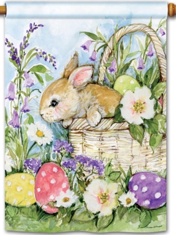 Easter Bunny Basket Standard Flag (Flag Pole Sold Separately)