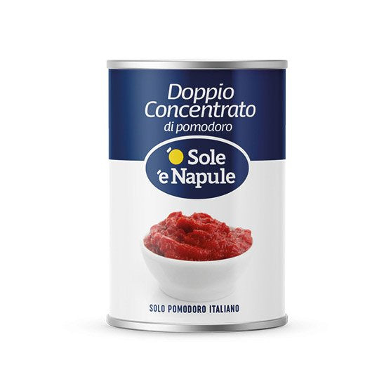 Doppio Concentrato 400 gr for a perfect Sauce