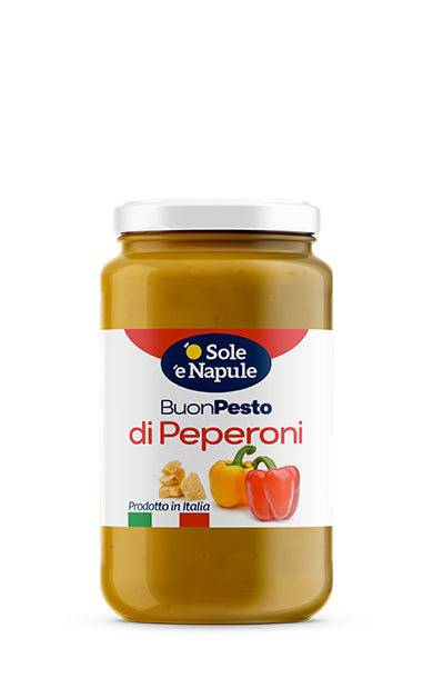 Pesto of Peppers – Glass 190 g