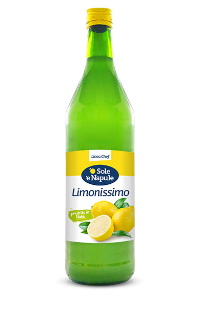 Limonissimo 1 litre ..fresh, light, ideal to make granita and lemonade