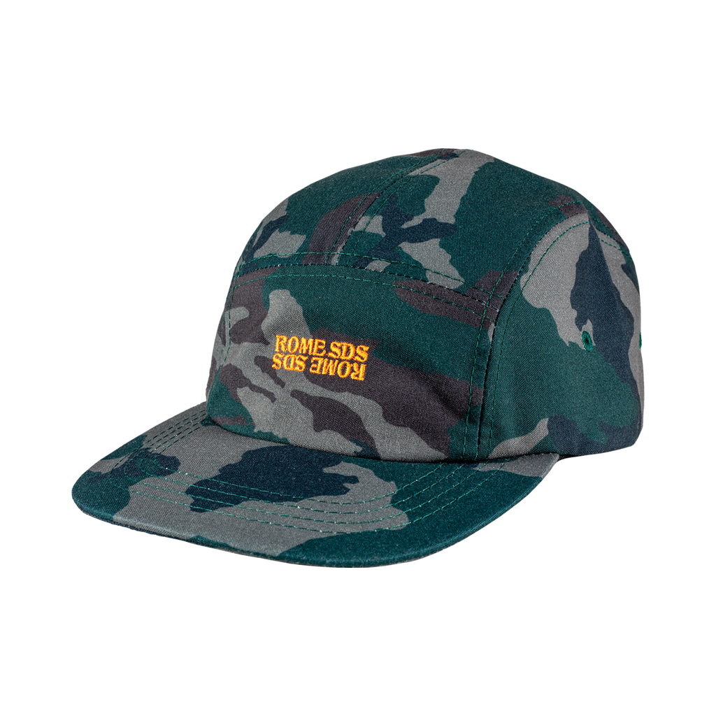 Rome camo Five Panel Cap 2020 2021 by rome snowboards