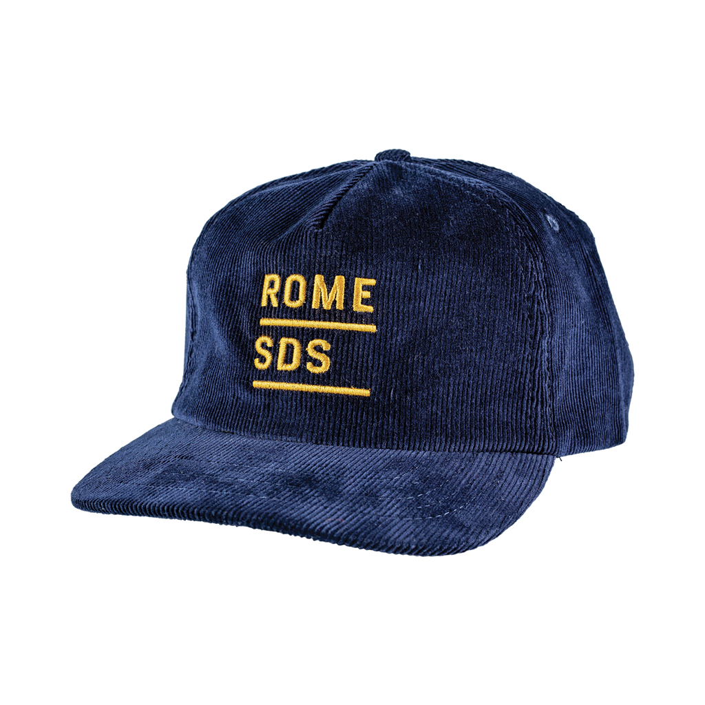 Rome Navy Stacked Cap 2020 2021 by rome snowboards