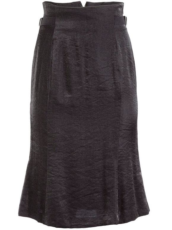 Matsuda High Waist Skirt Black - case-study