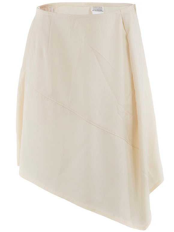 Matsuda Asymmetrical Skirt in Tan - case-study