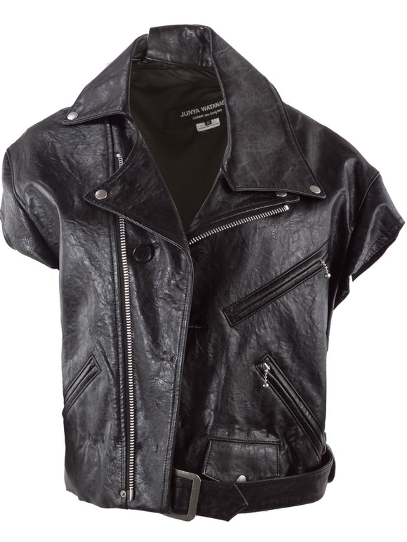 Junya Watanabe Leather Jacket - case-study