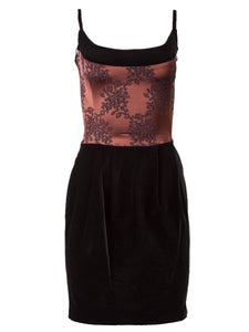Chantal Thomass Embroidered Bodice Dress - case-study