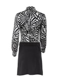 Paco Rabanne Op Art Belted Shirt Dress - case-study