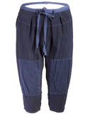 tao Indigo Drawstring Cropped Pants - case-study