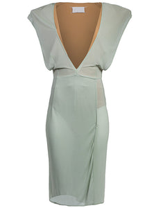 Maison Martin Margiela V-Neck Dress - case-study