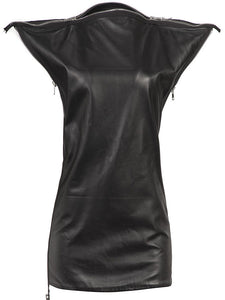 Maison Martin Margiela Leather Zip Tunic - case-study