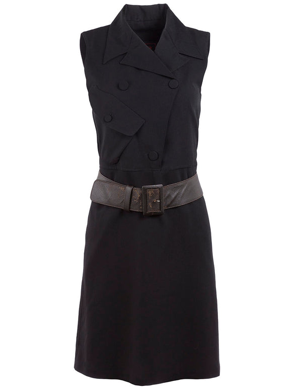 Jean Paul Gaultier Sleeveless Trench Dress - case-study