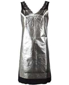 Sleeveless Foil Dress - SOLD OUT - case-study