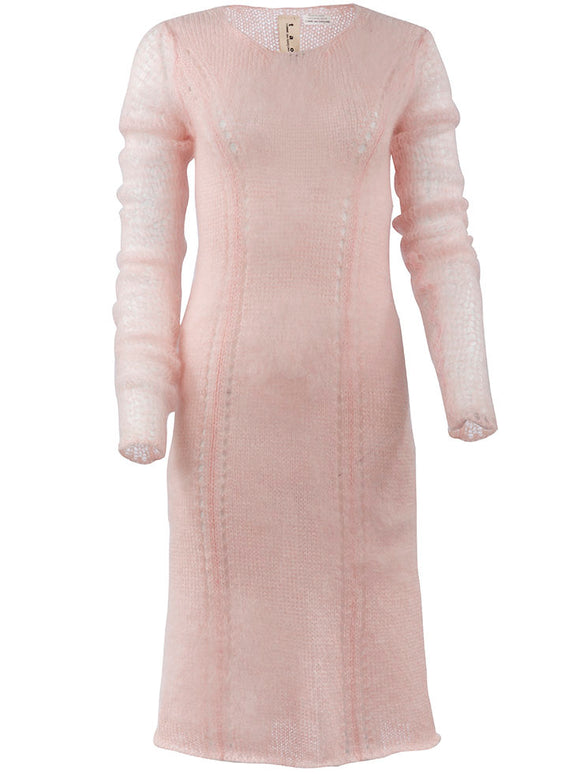 tao Knit Long Sleeve Knit Dress - case-study