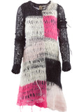 tao Color-Block Mohair Dress - case-study