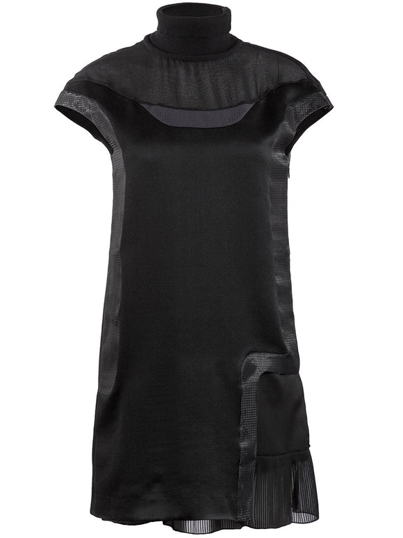 Undercover Silk High Neck Dress - case-study