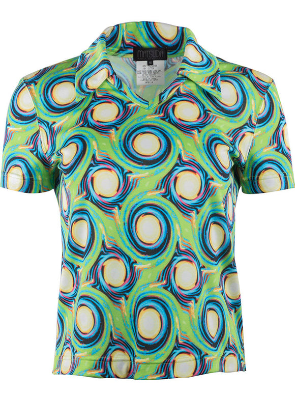 Matsuda Psychedelic Pattern Top - case-study