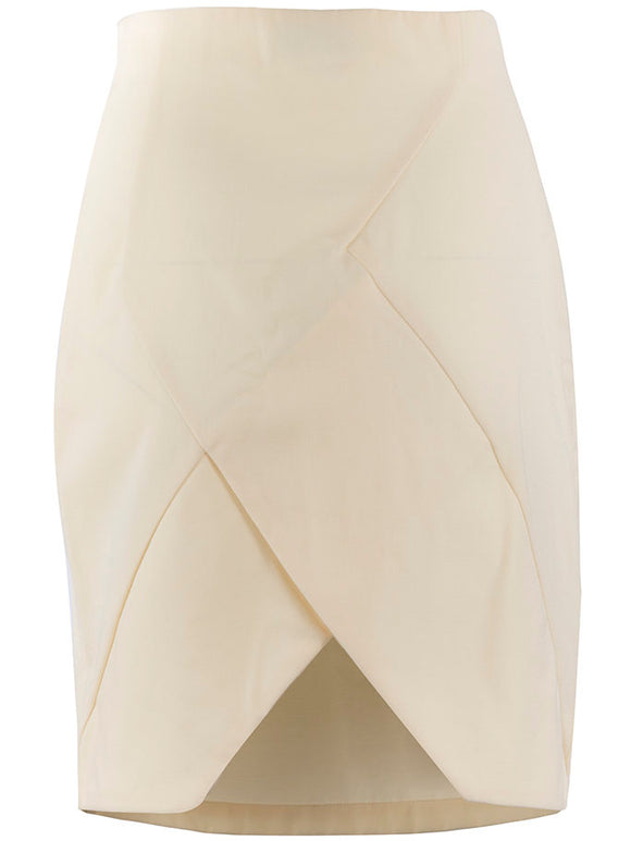 John Galliano Geometric Pencil Skirt - case-study