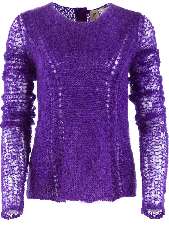t a o Mohair Open Knit Top - case-study