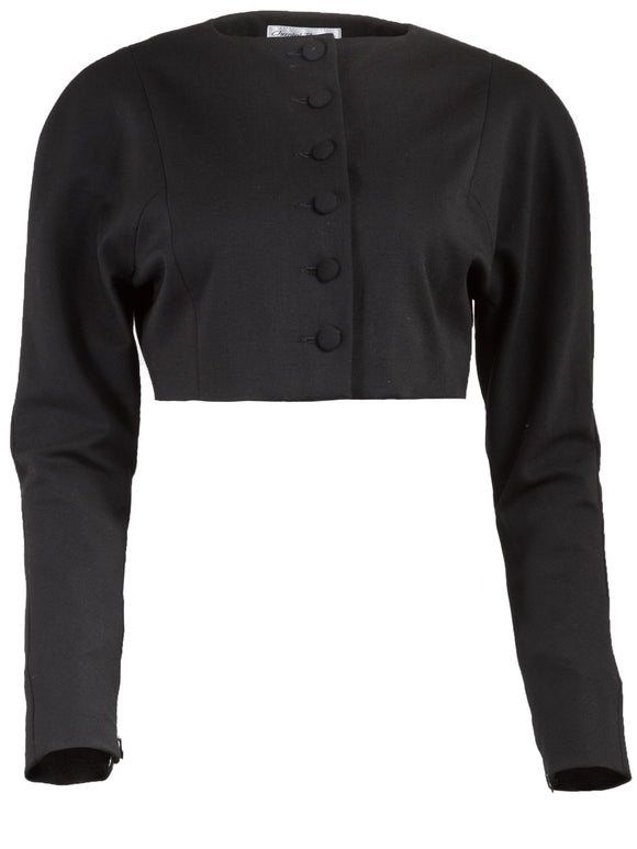 Chantal Thomass Cropped Button Jacket - case-study
