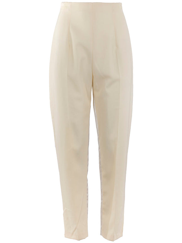 John Galliano High Waisted Tapered Trouser - case-study
