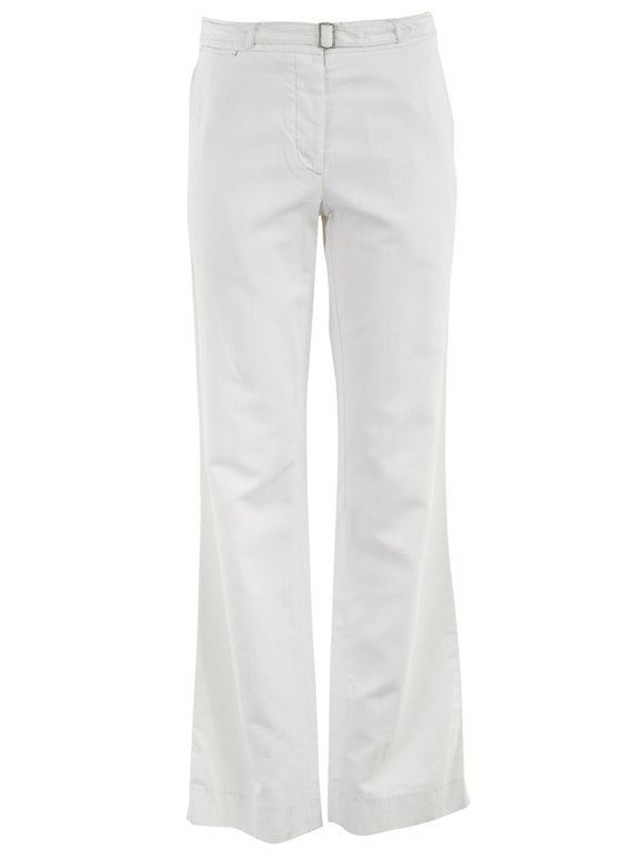 Maison Martin Margiela White Cotton Pants - case-study