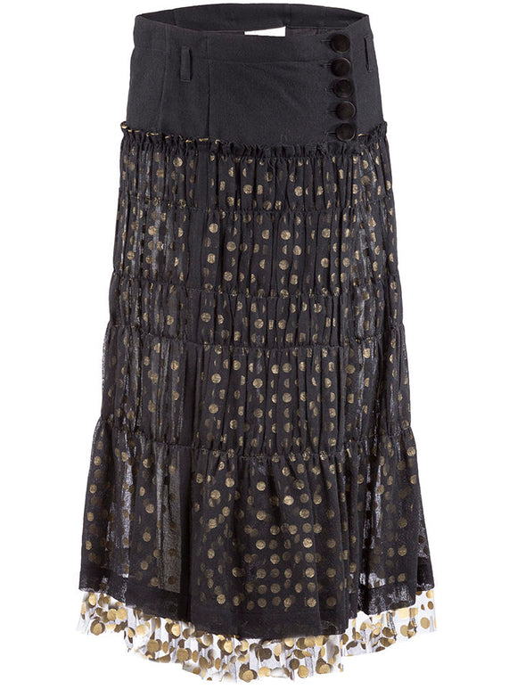 tao Belted Polka Dot Skirt - case-study