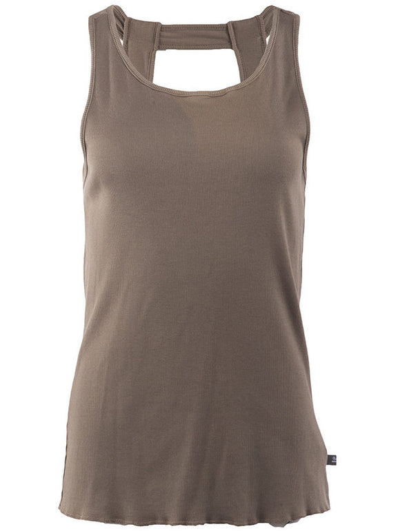 Undercover Ribbed Cotton Tank - case-study