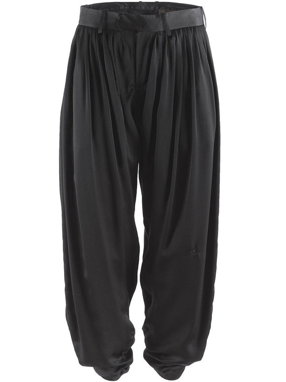 Undercover Pleated Silk Pants - case-study