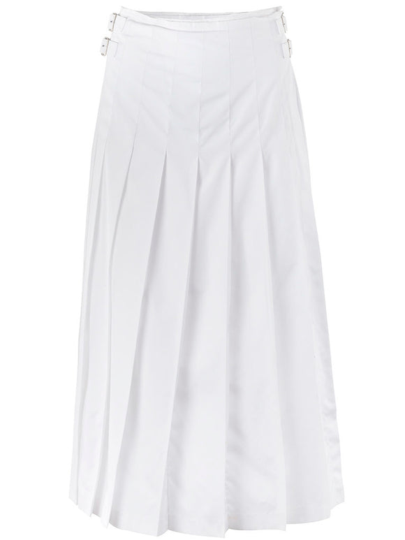 tao Long Pleated Buckle Skirt - case-study