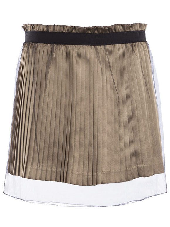 Undercover Mini Pleat Skirt - case-study