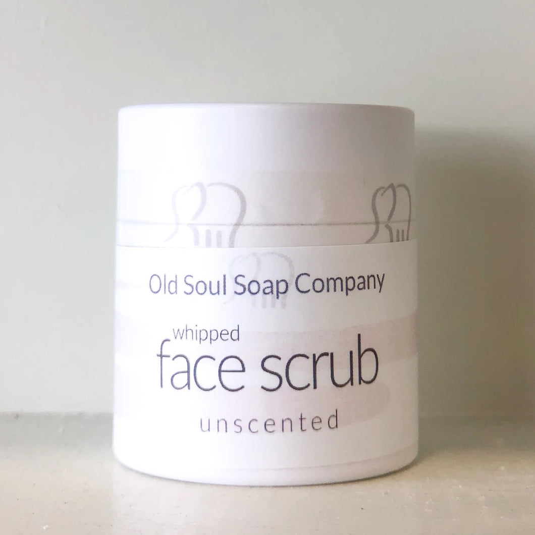 I AM Unscented Face Scrub By Old Soul Soap Company