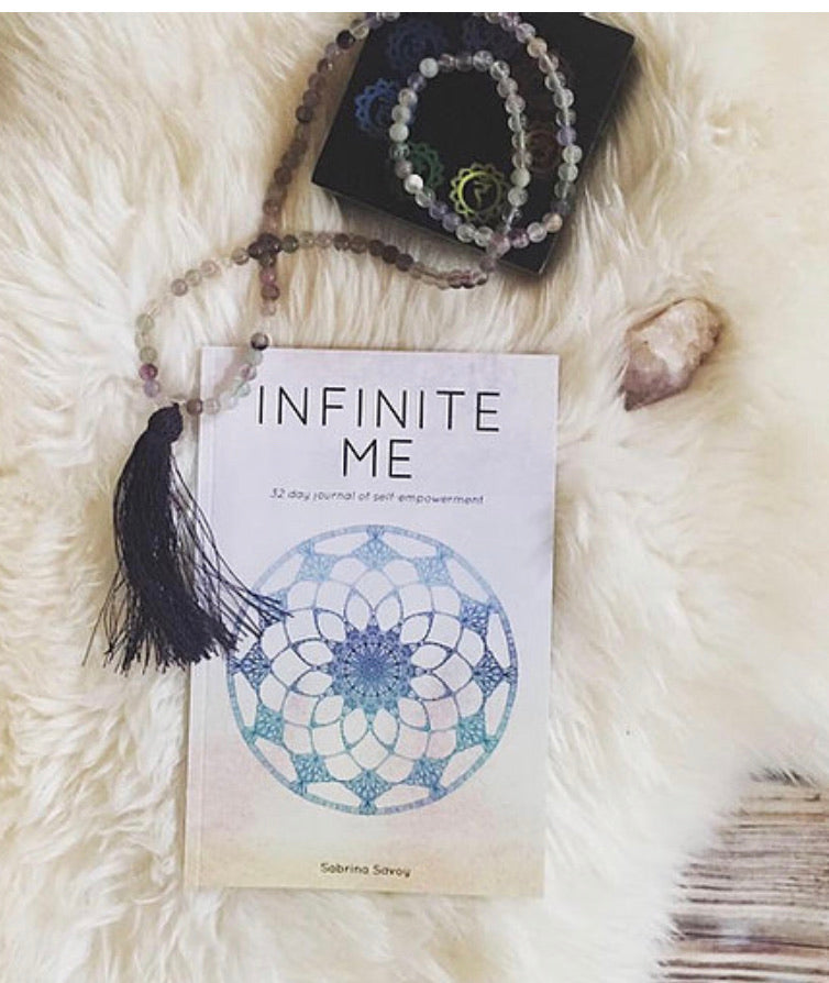 I AM Infinite Me Journal by Sabrina Savoy