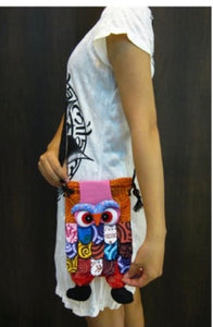 Kids Patchwork Owl Bag Style 02