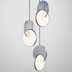 Eclipse Chandelier Chrome