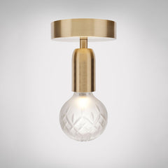 Crystal Bulb Ceiling Light