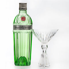 Tanqueray No. TEN 'The Perfect TEN Martini Glass'