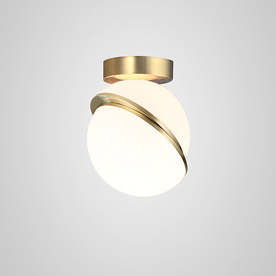 Mini Crescent Ceiling Light