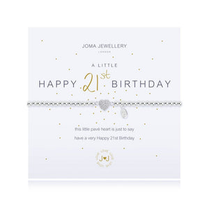 Joma Jewellery 'A Little' Happy 21st Birthday