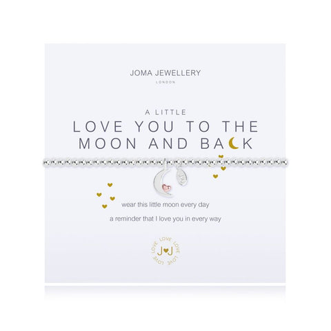 Joma 'A Little' Love You To Moon & Back Bracelet