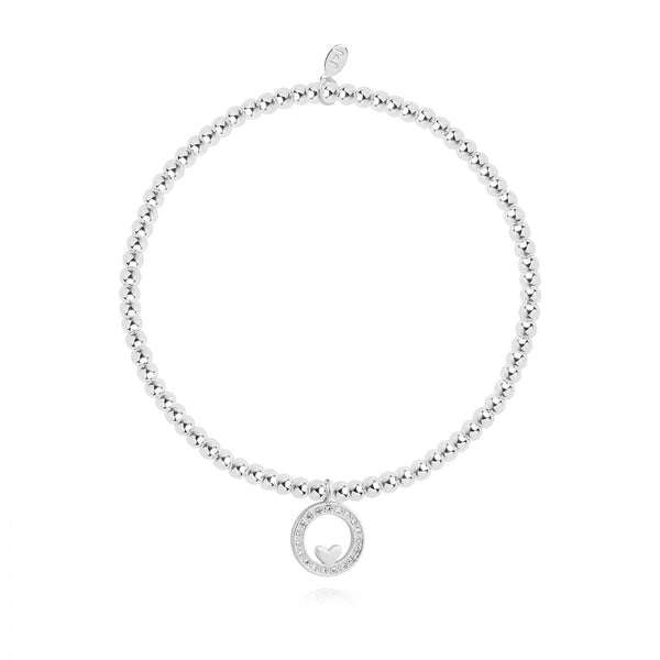 Joma Jewellery 'A Little' Forever Family  Sentiment Bracelet