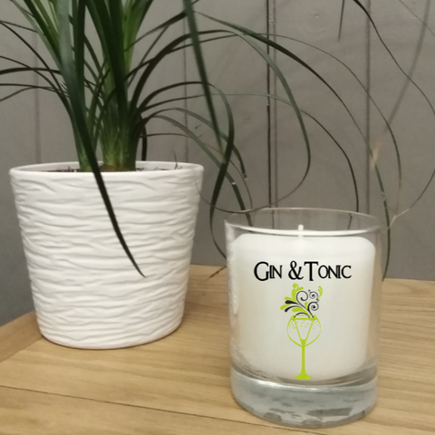 Boxed Scented Candle in jar - Gin & Tonic