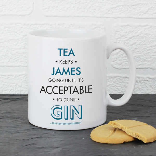 Mug Personalised Acceptable To Drink