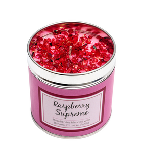 Best Kept Secrets Tin Candle Raspberry Supreme