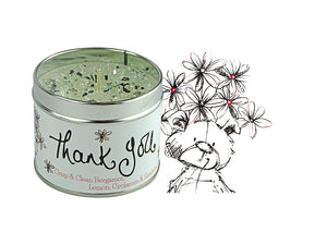 Best Kept Secrets Tin Candle Thank You Tracey Russell
