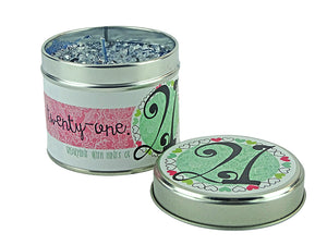 Best Kept Secrets Tin Candle 21st Birthday Tracey Russell