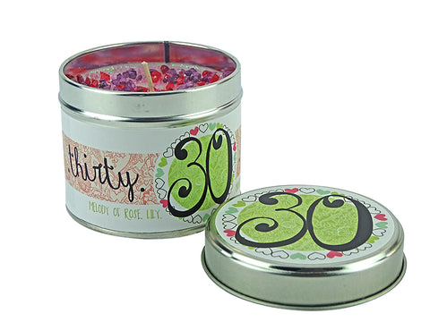 Best Kept Secrets Tin Candle 30th Birthday Tracey Russell