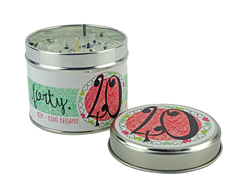 Best Kept Secrets Tin Candle 40th Birthday Tracey Russell