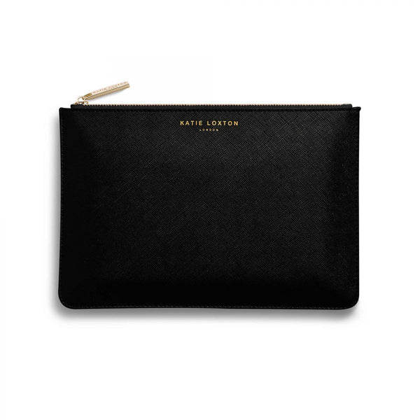 Katie Loxton Perfect pouch gift set sparkle and shine charcoal perfect pouch