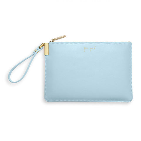 Katie Loxton Secret Message Pouch Free Spirit Oyster