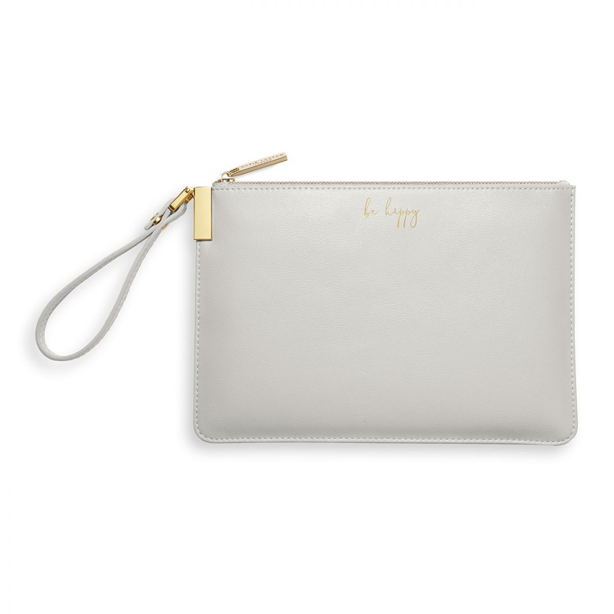 Katie Loxton Secret Message Pouch be happy be bright be you